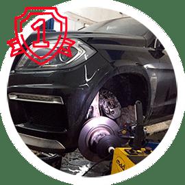 Гарантия 1 год на обслуживаемые автомобили